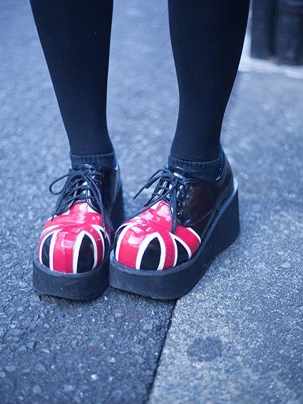 後藤みず穂 靴